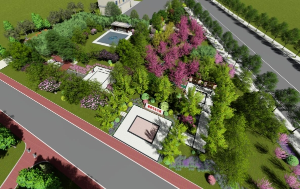 高新区首座廉洁文化公园开建